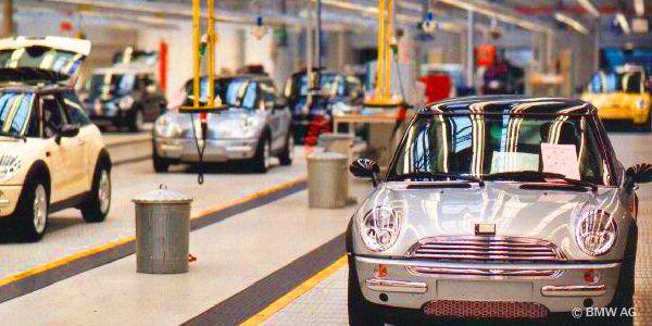 Gruppenreisen mit Werksführungen - MINI Produktion © BMW AG