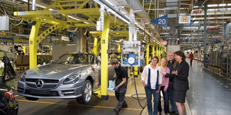 Werksführungen Automobile - Mercedes-Benz