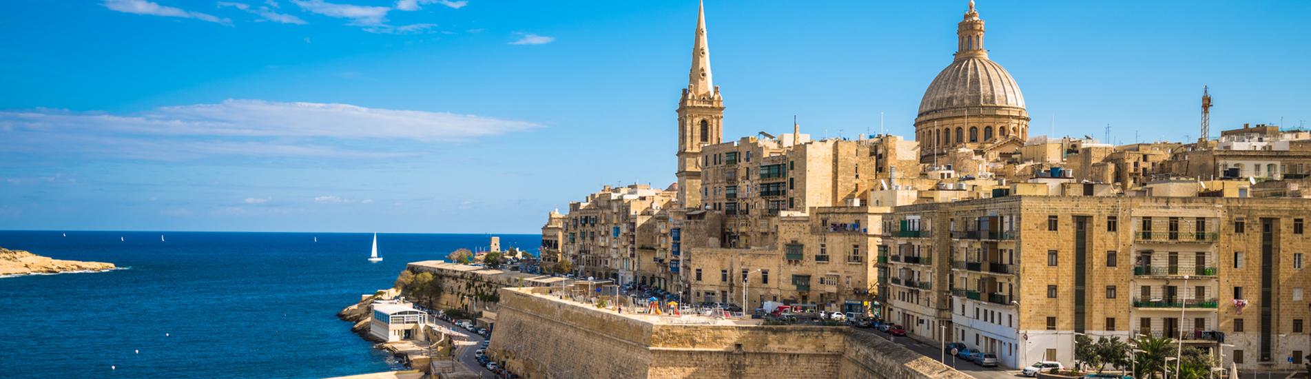 Altstadt von Malta Gebäude