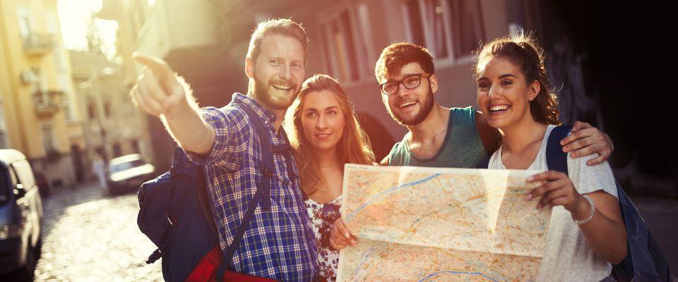 Reisen in der Gruppe